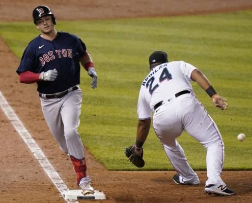 Marlins get shutout versus Boston