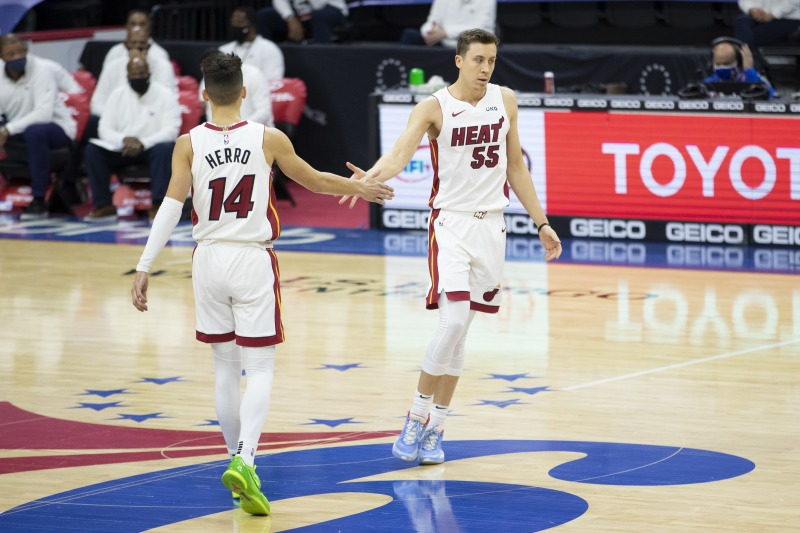 The Importance of the Herro-Robinson Offensive On-Court Combo