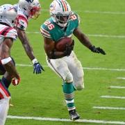 Dolphins win Patriots