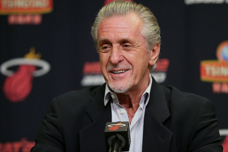 Pat Riley Getting His Words Twisted From Presser