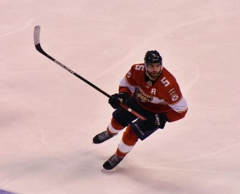 Panthers win an afterthought after injury to Aaron Ekblad
