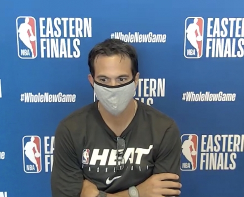 5 Comments from Media Session with Spoelstra, Stevens, Tatum, Walker