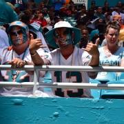 Dolphins fans are hoping Hawaiian born Tua Tagovailoa will be their quarterback next season. (Tony Capobianco for Five Reasons Sports)