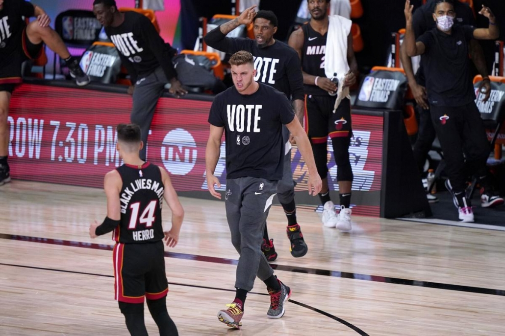 Meyers Leonard: The Leader, The Voice, The Hammer