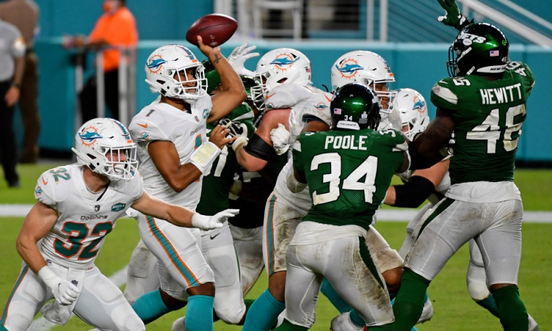 Dolphins Jets