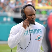 Miami Dolphins coach Brian Flores has a much more talented roster to work with in his second season.
