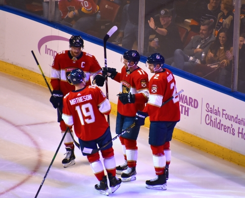 Florida Panthers make deal, clear cap space