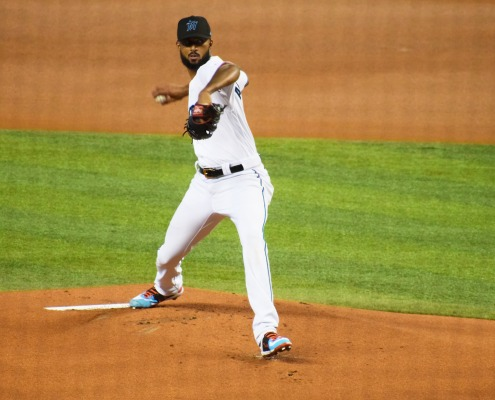 Sandy Alcantara pitches great, Marlins drop Opening Day game