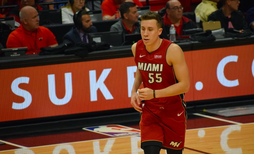 Miami Heat Duncan Robinson Shoots His Way To Memorable Night