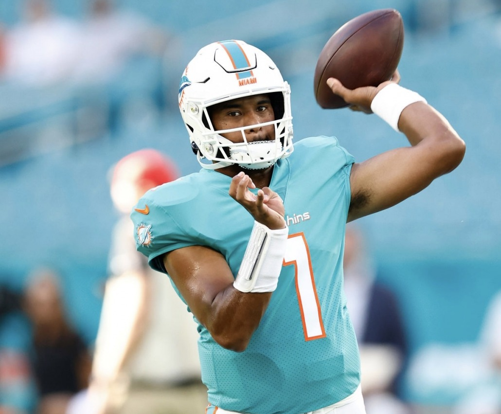 Tua Tagovailoa is on the spot to show he can lead the Miami Dolphins to the playoffs.