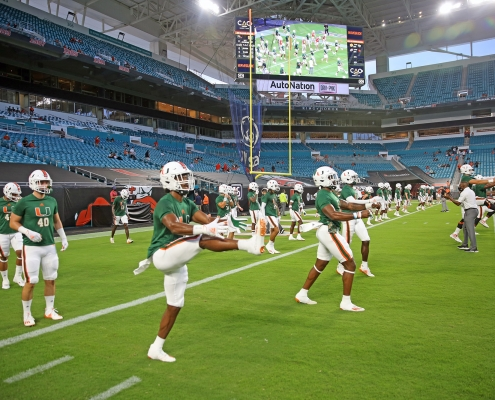 Miami Hurricanes take on Louisville Cardinals in Week Two matchup