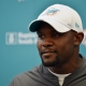 Dolphins coach Brian Flores says will be in for a long season in 2019 with young, inexperienced Dolphins team.