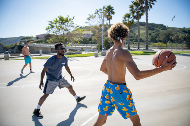 Setting up the best home basketball court