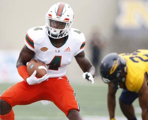 Miami Hurricanes: Thomas, Osborn Lead Dynamic WRs