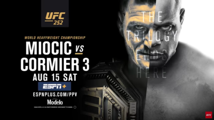 UFC 252: The Cormier Miocic Trilogy Ends Here